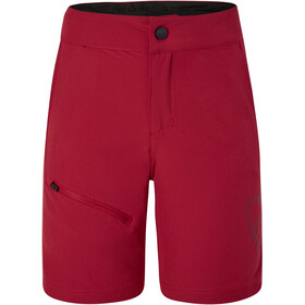 Ziener Natsu X-Function Shorts Kids, red pepper
